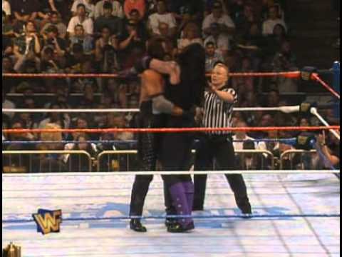 Photo of The Undertaker Wrestlmania 1996 Match