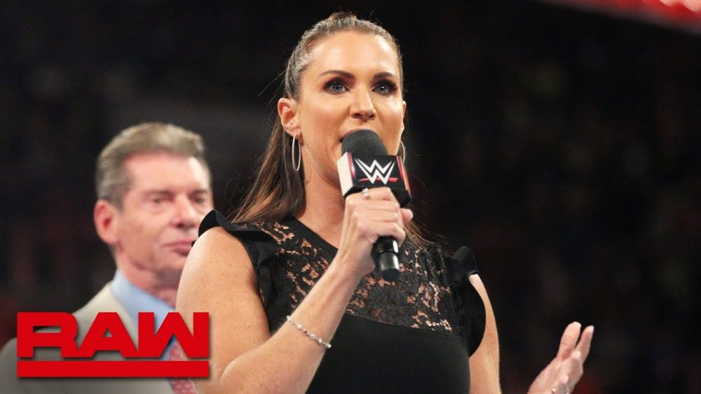 Photo of Stephanie McMahon announces WWE Evolution: Raw, July 23, 2018