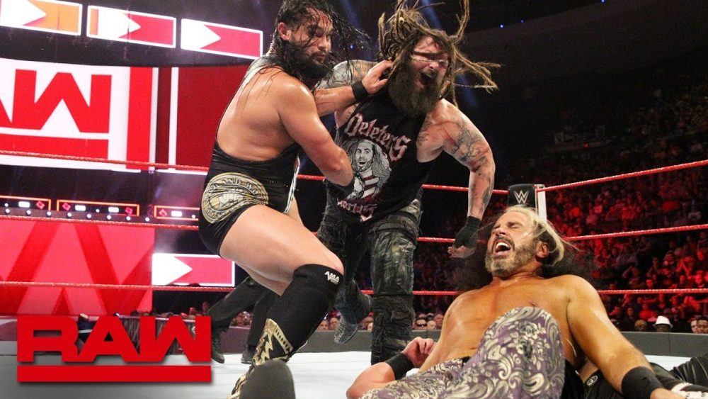 Photo of The B-Team vs. The Deleters of Worlds – Raw Tag Team Championship Match: Raw, July 23, 2018
