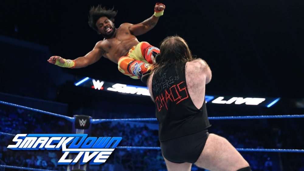 Photo of The New Day vs. SAnitY: SmackDown LIVE, July 24 2018