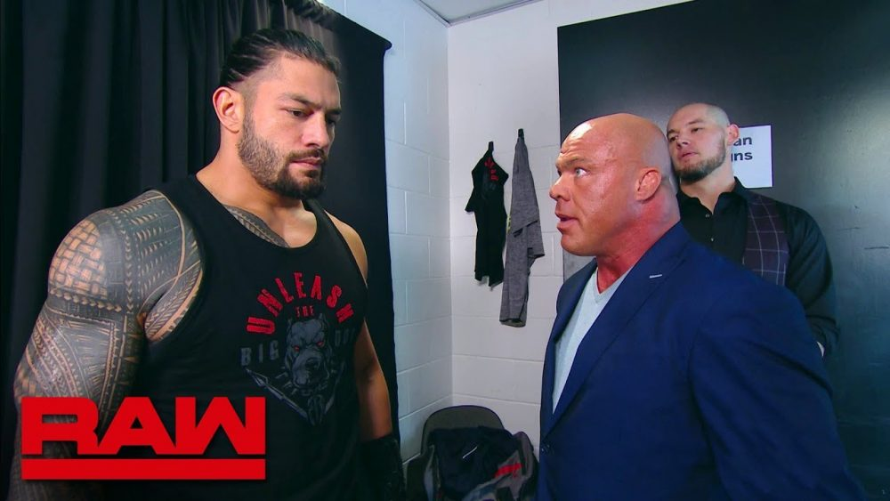 Photo of Roman Reigns leaves the building: Raw, July 30, 2018