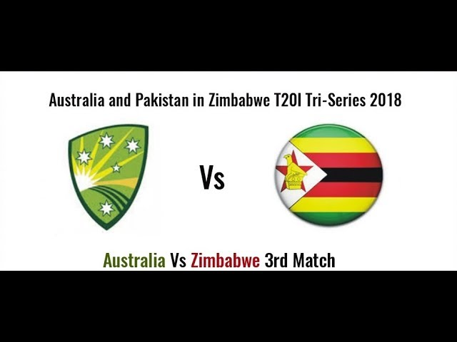 Photo of Australia Vs Zimbabwe 3rd T20 Live