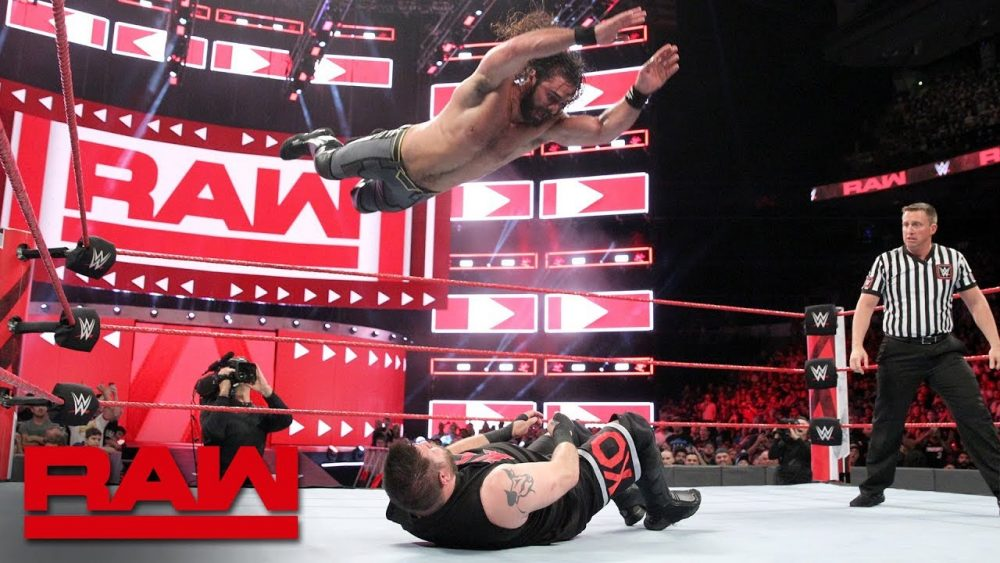 Photo of Seth Rollins vs. Kevin Owens – Intercontinental Champioship Raw Aug27,2018