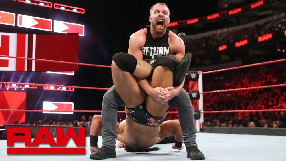 Photo of Dean Ambrose vs. Drew McIntyre: Raw, Sept. 17, 2018